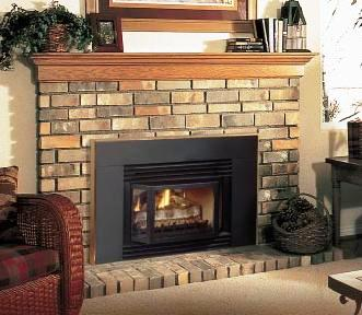 Convert your old wood burning fireplace into an efficient direct vent fireplace!