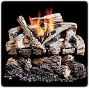 Vangaurd Vented Gas Log Sets