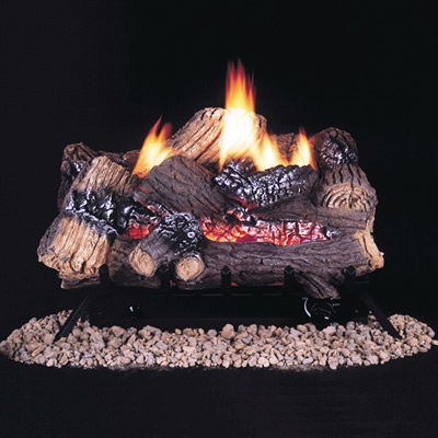With Vanguard's ChaRealistic® vent-free gas log heaters, you'll swear they just came off the wood pile.