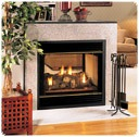 Vanguard Direct Vent Fireplaces do not affect indoor air quality and are ideally suited for today's energy efficient, tightly constructed homes.