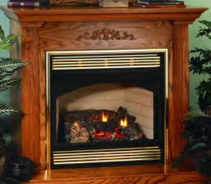 Vanguard Vent Free Classic Fireplace